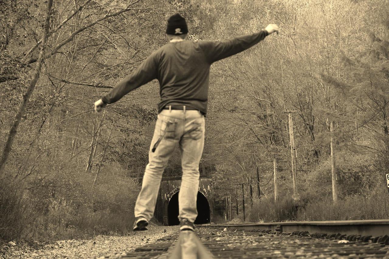 Links Schwindel und Gleichgewicht